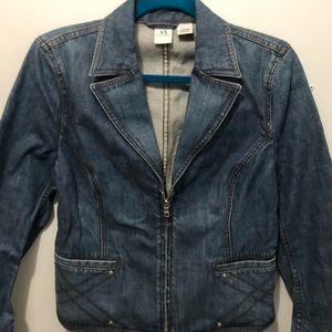 A/X Armani Exchange Denim Jean Jacket, Size L